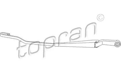 Рычаг стеклоочистителя левый на VOLKSWAGEN PASSAT 'TOPRAN 113 486'.