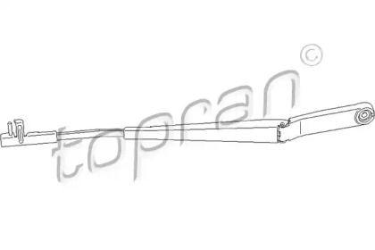 Рычаг стеклоочистителя левый на Шкода Октавия А5 'TOPRAN 113 484'.