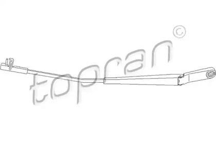 Рычаг стеклоочистителя правый на SKODA OCTAVIA A5 'TOPRAN 113 485'.