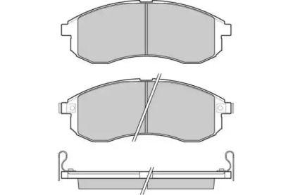 Передние тормозные колодки 'E.T.F. 12-1132'.
