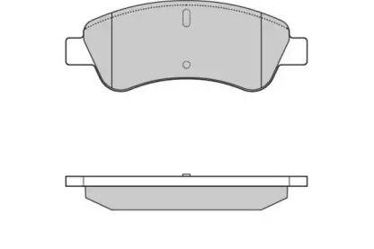 Передние тормозные колодки 'E.T.F. 12-0928'.