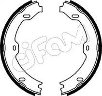 Гальмівні колодки ручника на Мерседес W211 CIFAM 153-243.