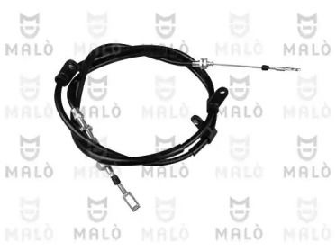 Трос ручного гальма MALO 26811.