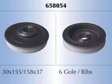 Шків колінвалу MALO 658054.