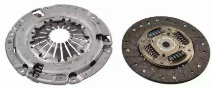 Комплект сцепления на CHEVROLET TRAX 'SACHS 3000 950 661'.