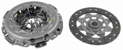 Комплект зчеплення на Мерседес W212 SACHS 3000 950 714.