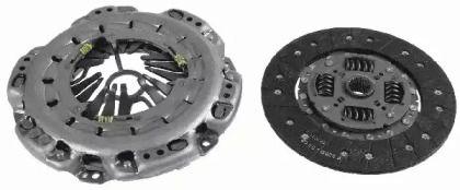 Комплект зчеплення на Мерседес W211 SACHS 3000 951 802.