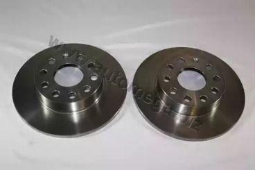 Задний тормозной диск 'DELLO 120017410'.