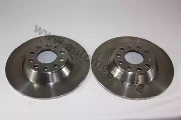 Задний тормозной диск 'DELLO 120017710'.