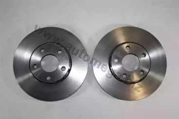 Вентилируемый передний тормозной диск 'DELLO 120034010'.