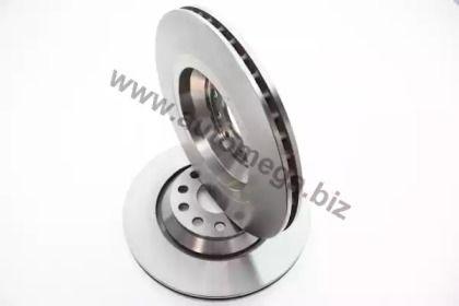 Вентилируемый задний тормозной диск 'DELLO 120037410'.