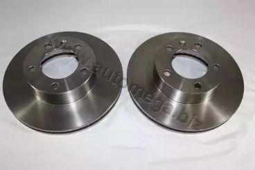 Вентилируемый передний тормозной диск 'DELLO 120046810'.