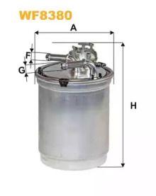 Паливний фільтр WIX FILTERS WF8380 малюнок 0