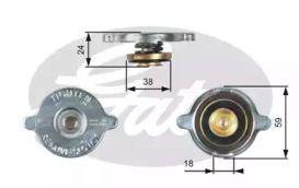 Кришка радіатора на Мерседес Г Клас  GATES RC113.