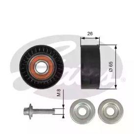 Ролик ременя генератора на Mercedes-Benz GLC  GATES T36618.