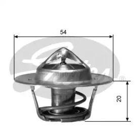 Термостат, охлаждающая жидкость на Шкода Октавия А5 'GATES TH00188G1'.