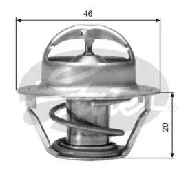 Термостат, охлаждающая жидкость 'GATES TH03082G1'.