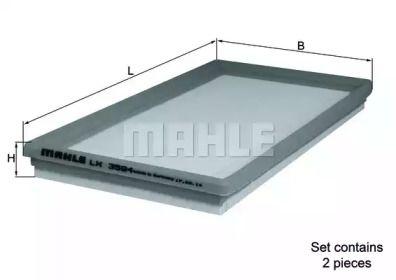 Воздушный фильтр 'MAHLE LX 3594/S'.