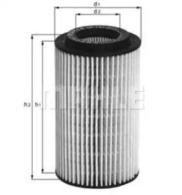 Масляный фильтр KNECHT OX 153D3.