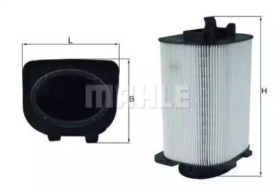 Повітряний фільтр на Мерседес ГЛЦ  MAHLE LX 3775.