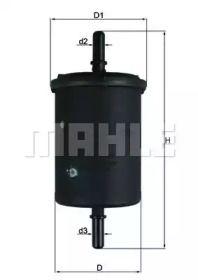 Топливный фильтр на CITROEN C3 PICASSO KNECHT KL 248.