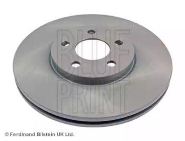 Вентилируемый передний тормозной диск на CHRYSLER PT CRUISER 'BLUE PRINT ADA104302'.