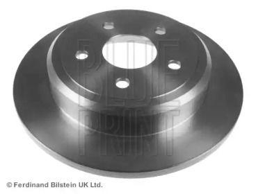 Задний тормозной диск на Джип Коммандер 'BLUE PRINT ADA104310'.