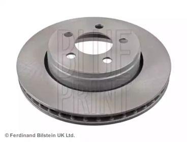 Вентилируемый передний тормозной диск на DODGE NITRO 'BLUE PRINT ADA104355'.