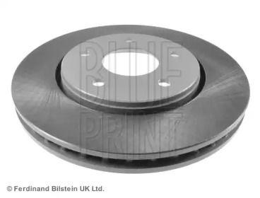 Вентилируемый передний тормозной диск на DODGE GRAND CARAVAN 'BLUE PRINT ADA104358'.