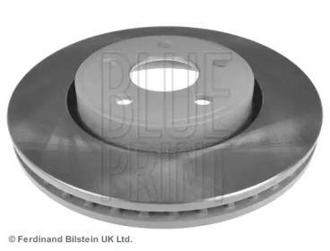 Вентилируемый передний тормозной диск на DODGE DURANGO 'BLUE PRINT ADA104362'.