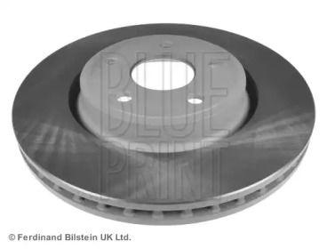 Вентилируемый передний тормозной диск на DODGE DURANGO 'BLUE PRINT ADA104363'.