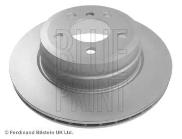 Вентилируемый задний тормозной диск на БМВ Х6 'BLUE PRINT ADB114304'.