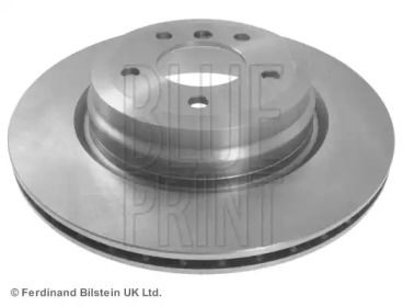 Вентилируемый задний тормозной диск на БМВ Х1 'BLUE PRINT ADB114307'.