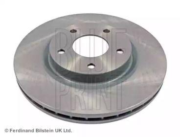 Вентилируемый передний тормозной диск на MITSUBISHI ASX 'BLUE PRINT ADC443123'.
