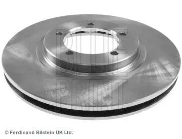 Вентилируемый передний тормозной диск на Митсубиси Делика 'BLUE PRINT ADC443124'.