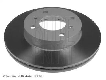 Вентильований передній гальмівний диск на Мітсубісі Карізма 'BLUE PRINT ADC44342'.