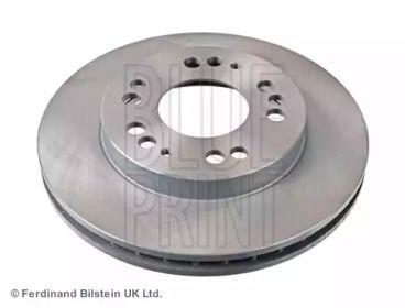Вентилируемый передний тормозной диск на Митсубиси Фто 'BLUE PRINT ADC44351'.