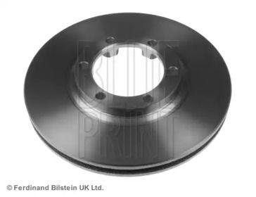 Вентилируемый передний тормозной диск на MITSUBISHI L200 'BLUE PRINT ADC44391'.