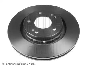 Вентилируемый передний тормозной диск на Пежо 4007 'BLUE PRINT ADC44392'.