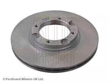 Вентилируемый тормозной диск на HYUNDAI PONY 'BLUE PRINT ADG04302'.