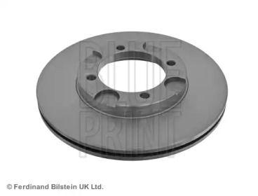Вентилируемый передний тормозной диск на HYUNDAI LANTRA 'BLUE PRINT ADG04308'.