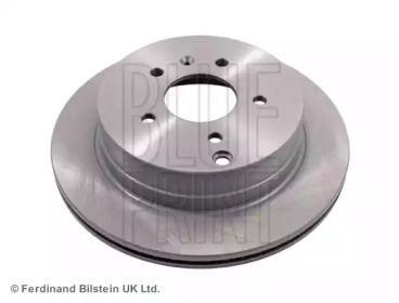 Вентилируемый задний тормозной диск на OPEL ANTARA 'BLUE PRINT ADG043127'.