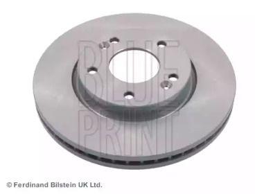 Вентилируемый передний тормозной диск на Хендай Ай икс 20 'BLUE PRINT ADG043130'.