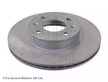 Вентилируемый передний тормозной диск на Киа Пиканто 'BLUE PRINT ADG043133'.