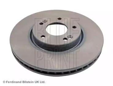 Вентилируемый передний тормозной диск на KIA SORENTO 'BLUE PRINT ADG043136'.