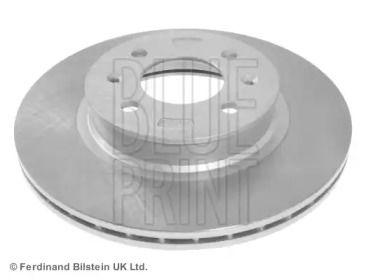 Вентилируемый передний тормозной диск на Хендай Ай20 'BLUE PRINT ADG043152'.