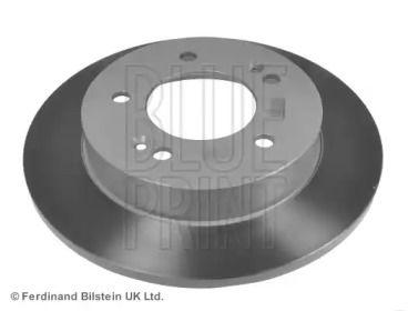 Задний тормозной диск на HYUNDAI IX20 'BLUE PRINT ADG043156'.