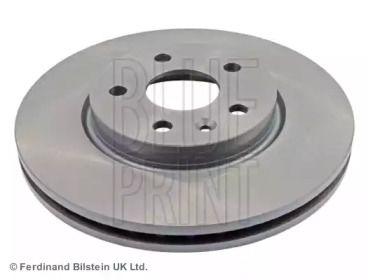 Вентилируемый передний тормозной диск на CHEVROLET CRUZE 'BLUE PRINT ADG043168'.