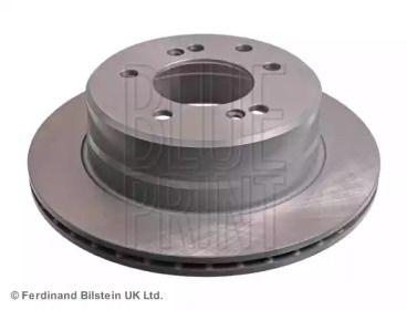 Вентилируемый задний тормозной диск на Санг Йонг Родиус 'BLUE PRINT ADG043216'.