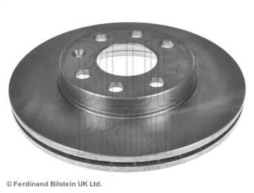 Вентилируемый передний тормозной диск на Опель Комбо 'BLUE PRINT ADG04325'.